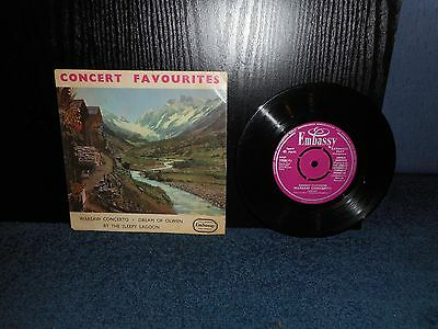 "7"" 45rpm EP The London Metropolis Symphony Orchestra - Concert Favourites"
