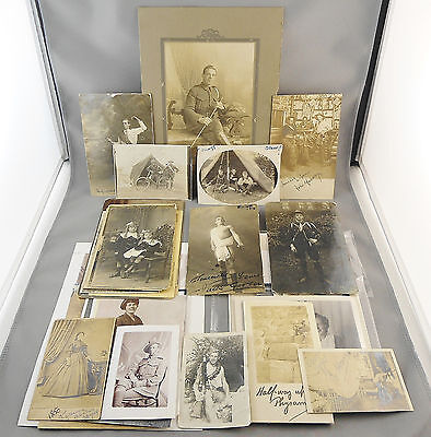 Antique & Vintage Photograph & Rppc Collection Named Austalian Army 1910-1916 ++