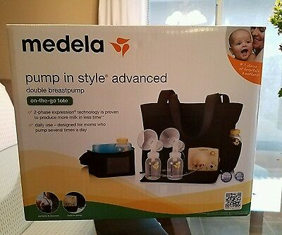 Unopened brand new Medela Pump In Style Advanced breast pump