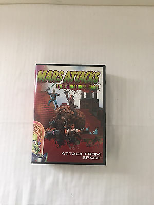 Mars Attacks the Miniatures Game: Attack from Space by Topps