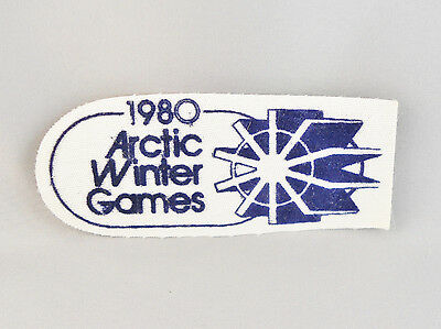 1980 Arctic Winter Games Patch Whitehorse Canada