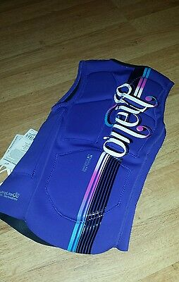 O'Neill womens impact vest size 6 NEW ladies wakeboarding water sports