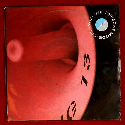 "DEPECHE MODE - STRANGE LOVE ORIGINAL N/MINT 7"" VINYL SINGLE rare ITALY ps"