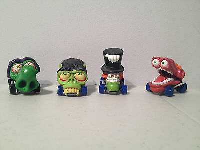 2004 PMI Monster Ugly Scary Toy Cars like Mad Balls on Hot Wheels Die Cast Lot