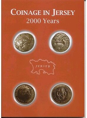 RARE BRAND NEW Jersey coin book - coinage of Jersey 2000 years territories
