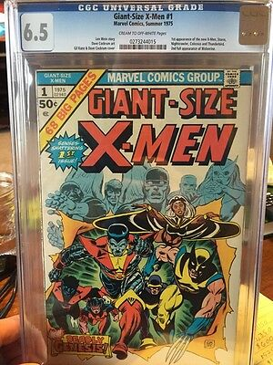 Giant-Size X-Men #1 CGC 6.5 (First Appearance of the new X-Men)