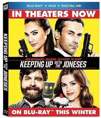Keeping Up With the Joneses [New Blu-ray] With DVD, Widescreen, Ac-3/Dolby Dig