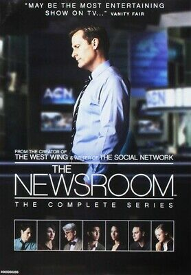 The Newsroom: The Complete Series [New DVD] Shrink Wrapped, Back To Back Packa