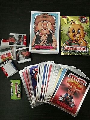Vintage Garbage Pail Kids / Gang All New Series 1 Trading Cards, Foils, Box, Gum