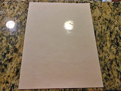 Combo - Inkjet printable CLEAR vinyl/3M laminate - 10 sheets (8.5in x 11in)
