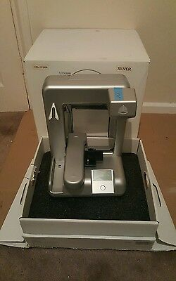 CUBIFY CUBE PLASTIC 3D PRINTER - 2nd Generation, Silver - LIKE NEW