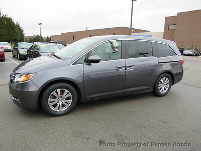 2014 Honda Odyssey EX WITH RES EX WITH RES 4 dr Van Automatic Gasoline V6 Cyl Modern Steel Metallic