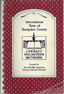 *springfield Ma 1991 International Taste Of Hampden County Cook Book *ethnic