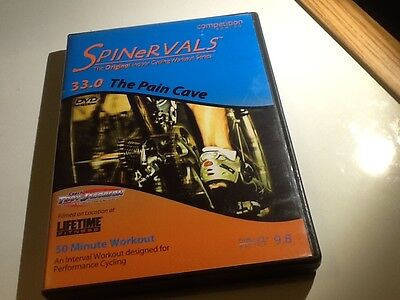 Spinervals 33.0 Pain Cave The Original Indoor Cycling Workout Series 50 minutes