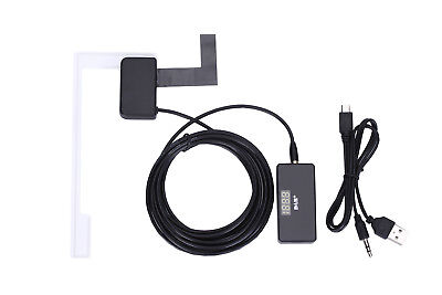 USB DAB+ Digital Radio Receiver Box Amplified Aerial antenna Android headunit UK