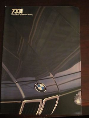 1982 BMW 7331 Sales Brochure