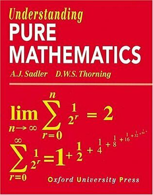 Understanding Pure Mathematics, Thorning, D. W. S. Paperback Book The Cheap Fast