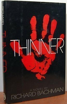Thinner, King, Stephen Hardback Book The Cheap Fast Free Post