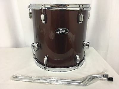 "Pearl ROADSHOW 14"" Diameter X 14"" Deep Floor Tom/#91/Wine Red/Brand New"