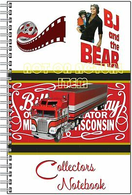 3 Pack BJ And The Bear Collectors Notebook - Great Gift! Greg Evigan - Kenworth