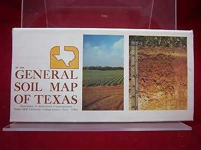 General Soil Map of Texas; by Texas A&M; 1973; G; 160801