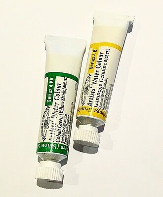 Winsor And Newton Artists Watercolour 5Ml Tube 2 Colours Series 4 Lot 105 Sale