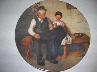 Collectors Plate Knowles 1979 Lighthouse Keepers Daughter
