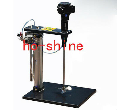 50 Gallon Automatic Pneumatic Mixer With Stand Paint Coating Mix Tool