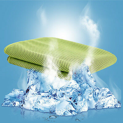 New Instant Cooling Towel Sports Outdoor Ice Cold cool towel Gym Golf Reusable