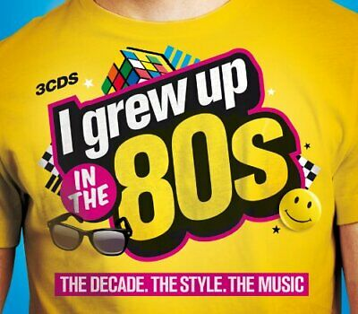 Various Artists - I Grew Up in the 80s - Various Artists CD 02VG The Cheap Fast