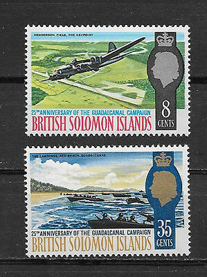 British Solomon Islands , Guadalcanal , 1967 , Set Of 2 , Perf , Mnh