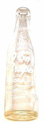 Vintage 1950's O-So Grape ACL Soda Pop Bottle Chicago Illinois Can Tin NoRskOffr