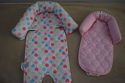Infant Baby Girl Carseat Head And Neck Support