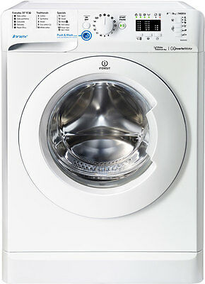 Indesit BWA81483XWUK Innex A+++ 8Kg 1400 Spin Washing Machine White New from AO