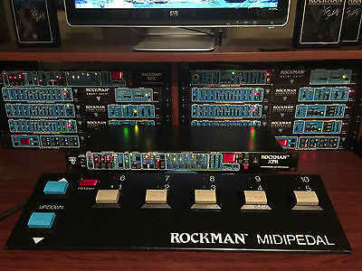 Scholz Rockman XPR Multiprocessor #2443 and MIDIPEDAL #4497 - BUY IT NOW!!!
