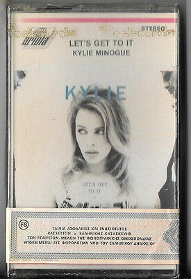 Kylie Minogue - Let's Get To It (10 Track Greek Cassette Tape) Sealed Tc 73035