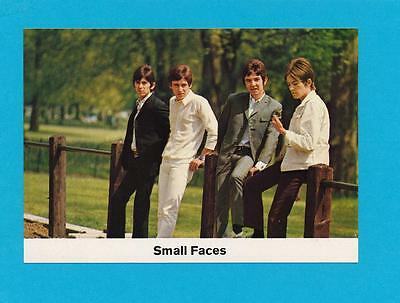 Pop Rock Music The Small Faces  Scarce German Card 1970