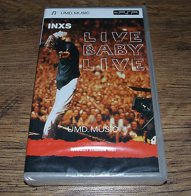 New & Sealed - INXS LIVE BABY LIVE Wembley Stadium 1991 - UMD Video for PSP