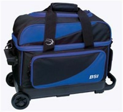 BSI 2-Ball Double Roller Bowling Ball Bag in Assorted Colors