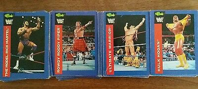 WWF WWE 1991Trading Cards Classic Superstars complete collection 1-150
