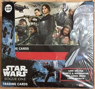 Topps Star Wars Rogue One Trading Cards Full Box X 36 Packets