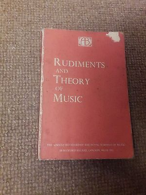 Rudiments And Theory Of Music Book
