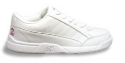 BSI Kids's Children's Girl's Athletic Style White Bowling Shoes 432