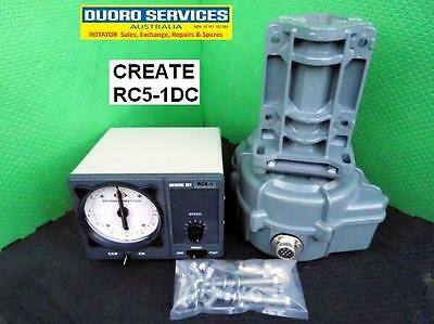 CREATE RC5-1DC. NEW DC Rotator & Controller with dial speed. 36 Month Warranty.