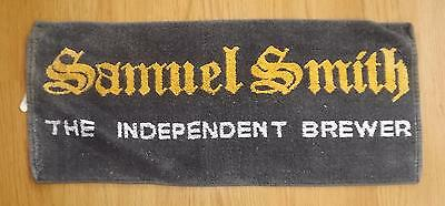 Samuel Smith The Independent Brewer bar towel - Tadcaster Yorkshire - beer/ale