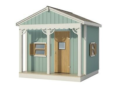 Build your own 8' X 8' playhouse (DIY Plans) Fun to build cubby!!