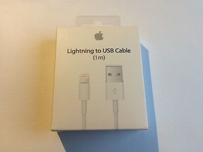 100% Retail Packaged Lightning Charger Cable iPhone 5 C S 6 S 7 Plus iPad Air