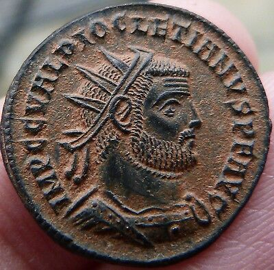 Astoundingl Uncleaned Diocletian Antoninianii - FANTASTIC!!
