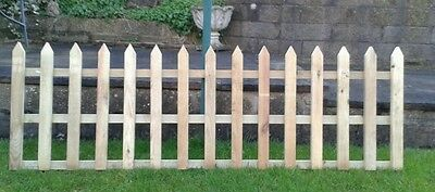 Picket Fence Strong Tanalised Timber x 2