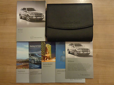 Mercedes Benz ML M Class Owners Handbook Manual and Pack 12-16